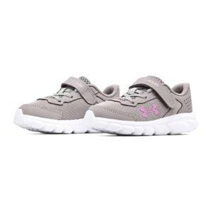 Under Armour | Infant/Toddler UA Assert 9 Velcro – Grey Wolf / White