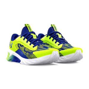 Under Armour | UA Charged Scramjet 4 Bungee – High Vis Yellow / White