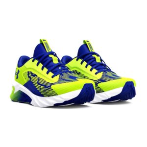 Under Armour | UA Charged Scramjet 4 Lace-Up – High Vis Yellow / White