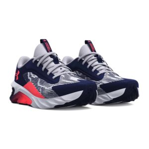 Under Armour | UA Charged Scramjet 4 Lace-Up – Midnight Navy / Mod Grey